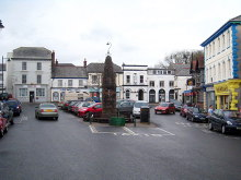 Holsworthy,The Square in Holsworthy Devon © Rod Allday